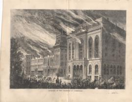 Burning Of The Chamber Of Commerce
