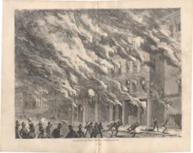 Burning Of The Crosby Opera House