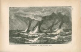 Waterspouts In The Southern Sea