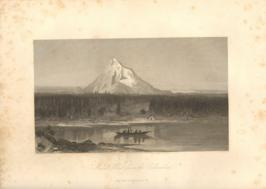 Mount Hood From The Columbia