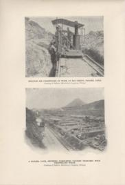Sullivan Air Channeller At Work At Bas Obispo Panama Canal And A Panama Lock Showing Completed Culve